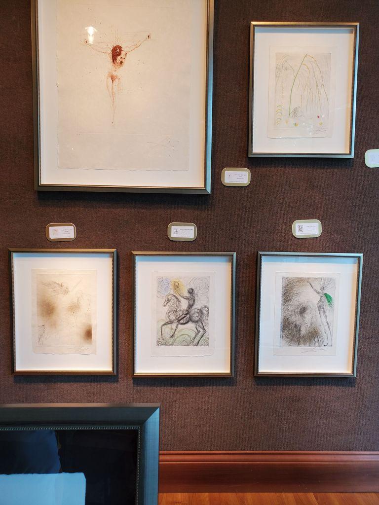 Some originals by Salvador Dali